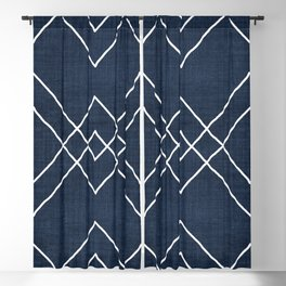 Nudo in Navy Blackout Curtain