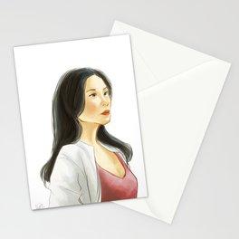 elementary: heroine Stationery Cards