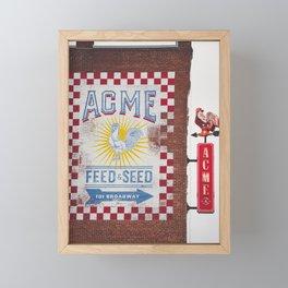 Acme Feed and Seed Nashville Tennessee Framed Mini Art Print