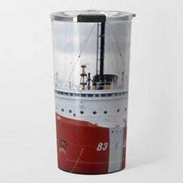 USCG Cutter Mackinaw 83 Travel Mug
