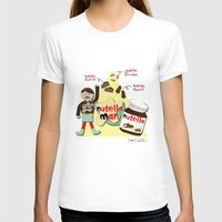 nutella T-shirts featuring I {❤} NUTELLA by lilycious