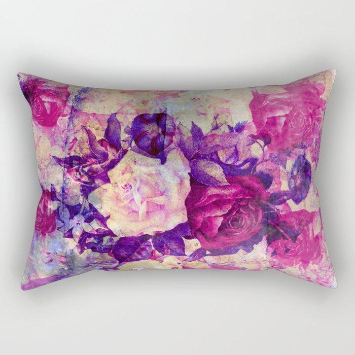 bouquet de roses Rectangular Pillow