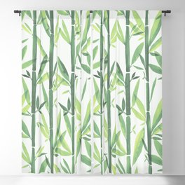 Spring Bamboo Blackout Curtain