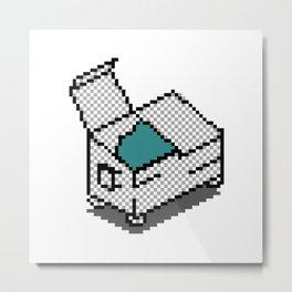 dumpster icon Metal Print