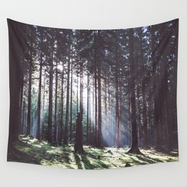 Magic forest - Landscape and Nature Photography Wall Tapestry