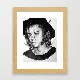 Harry Styles Drawing Framed Art Print