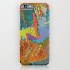Pixels On The Beach - Mark Gould Slim Case iPhone 6s