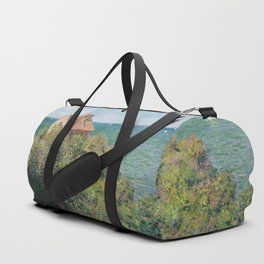 Fisherman's Cottage at Varengeville by Claude Monet Duffle Bag