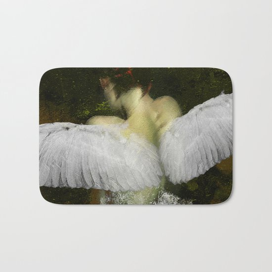 The angel of the hope Bath Mat
