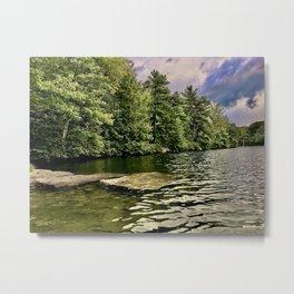 Lake Minnewaska in August Metal Print