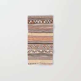 Hand Drawn Ethnic Pattern Hand & Bath Towel