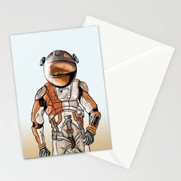Marte the martian Stationery Cards