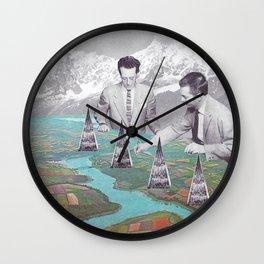 Architectes Wall Clock