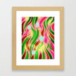 Flutters Framed Art Print