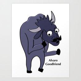 Alvaro Goodfriend  Art Print