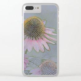 Flower Ballet 1 Clear iPhone Case