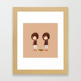 Mirror's Edge Faith Minis Framed Art Print