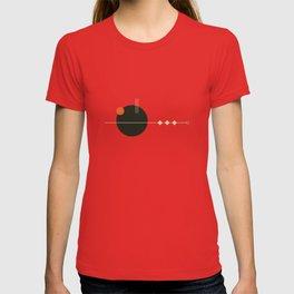 Mid Geo 01 // Mid Century Modern Minimalist Illustration T-shirt