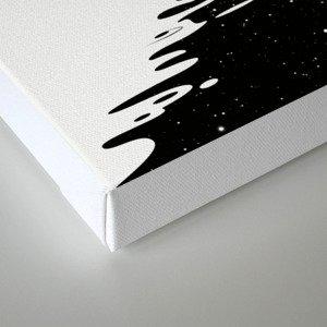 Stripe Charging Canvas Print