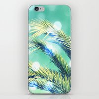 palm iPhone & iPod Skins featuring palm by laika in cosmos
