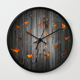 Let us in... Wall Clock
