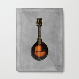 The 1943 Mandolin Metal Print