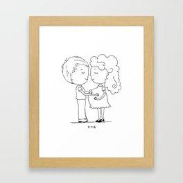 1+1=3 Framed Art Print