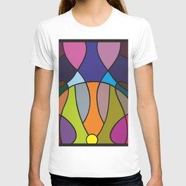 Circle composition T-shirt