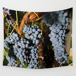 Grapes Vineyard Wall Tapestry