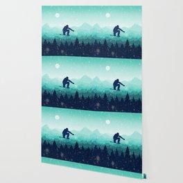 Snowboard Skyline II Wallpaper