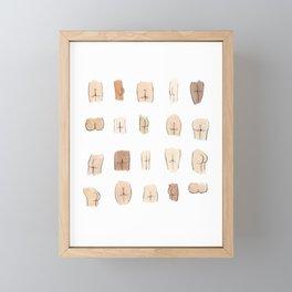 Butts Framed Mini Art Print