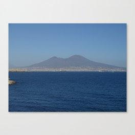 The soul of Naples Vesuvius Canvas Print