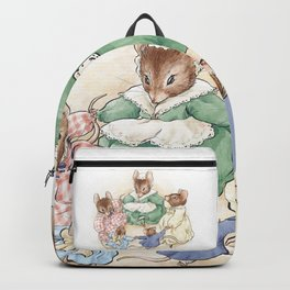Many Mice Go 'Round Backpack