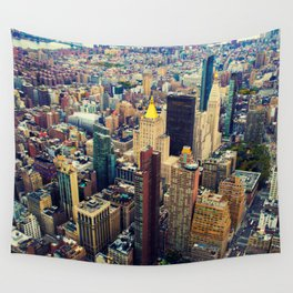 New York C Wall Tapestry