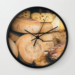 Fromagerie in Sarlat Wall Clock