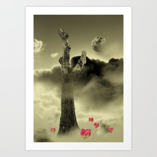 Misty Dreaming Art Print
