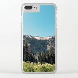 Backpacking the Trinity Alps Clear iPhone Case