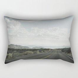 California road trip, Mojave Desert Rectangular Pillow