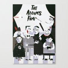 ADDAMS FAMILY Canvas Print