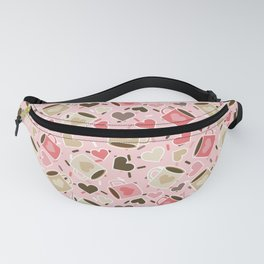 Love Coffee With Sprinkles  Fanny Pack