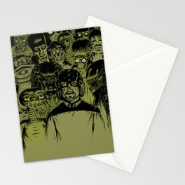 Alien Meeting Stationery Cards