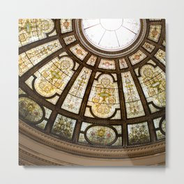 Glory - The Chicago Cultural Center Metal Print