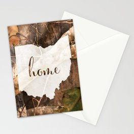 Ohio is Home - Camo Stationery Cards