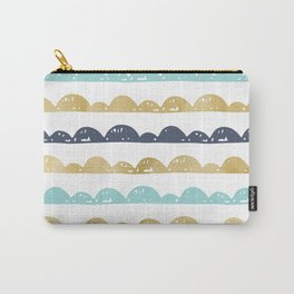 Golden Pastel Clouds Carry-All Pouch
