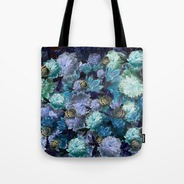 """""""Baroque floral with bugs"""" Tote Bag"""