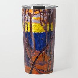 Tom Thomson - Phantom Tent - Canada, Canadian Oil Painting - Group of Seven Travel Mug
