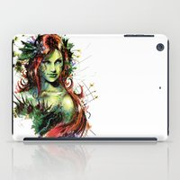 poison ivy iPad Cases featuring Poison Ivy by Vincent Vernacatola