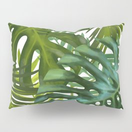 Palm and Monstra Pillow Sham