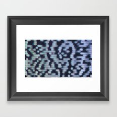 Painted Attenuation 1.2.1 Framed Art Print