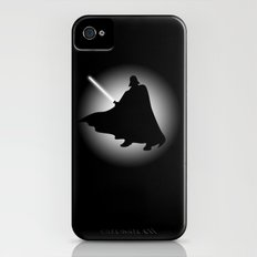 Vader Sithouette (B/W) iPhone (4, 4s) Slim Case